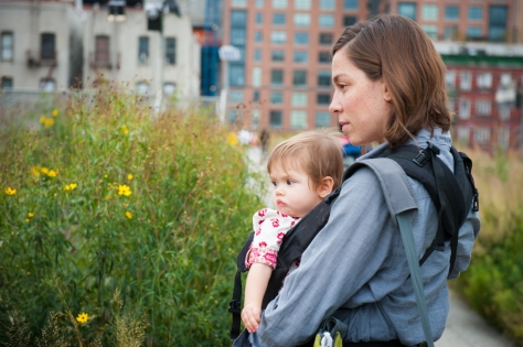 Sian and Niko Check in with the Bee Population of The High Line