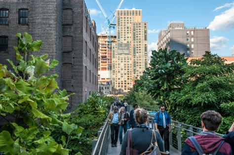 The High Line- Looking North from 26th Street