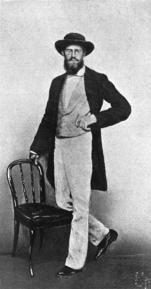 Alfred Russel Wallace, 1862