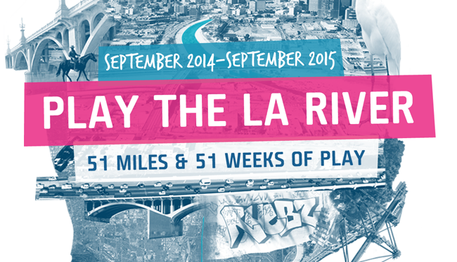 PLAY THE LA RIVER- The Game